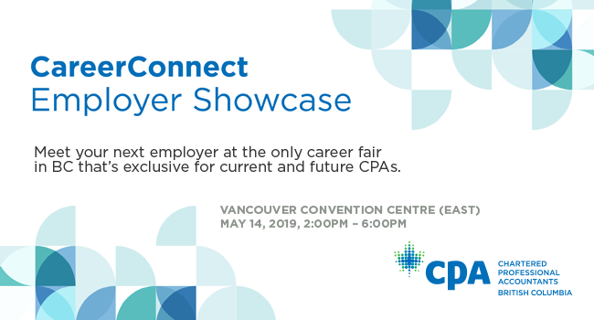 CPABC CareerConnect Employer Showcase 2019.