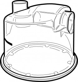 cpap water clipart