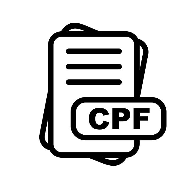 Cpf File Format Icon Design, Cpf File Format Icon, File, Format PNG.