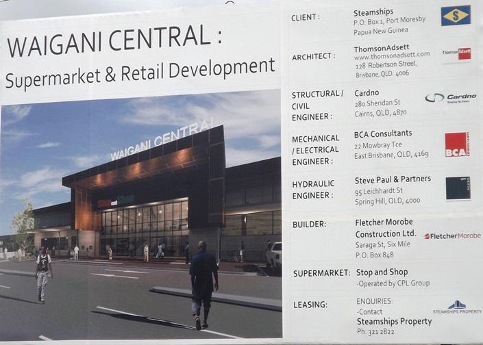 Malum Nalu: CPL builds biggest supermart in PNG.