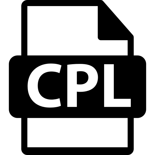 CPL File Format PNG Icon.