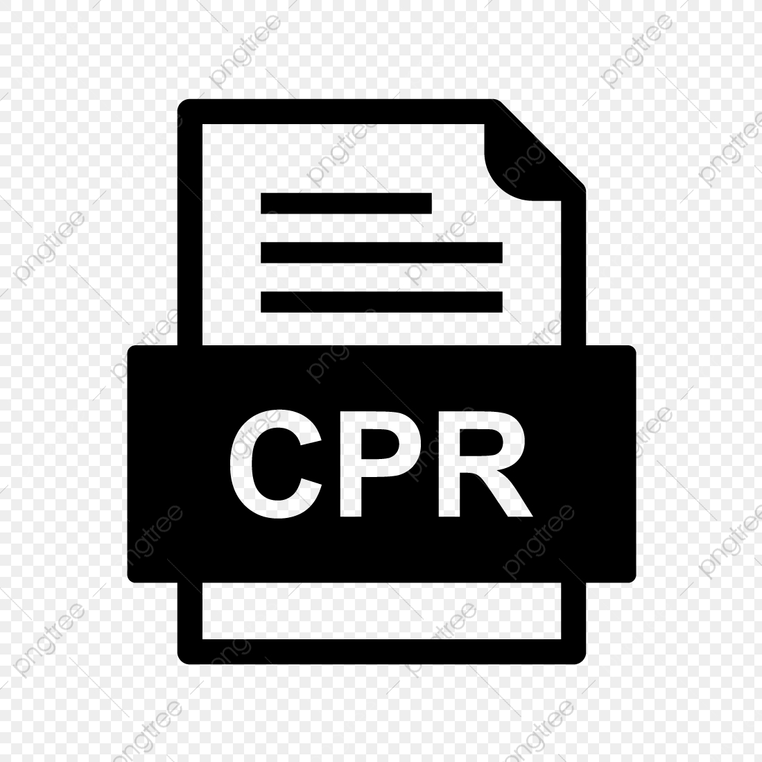 Cpr File Document Icon, Cpr, Document, File PNG and Vector with.