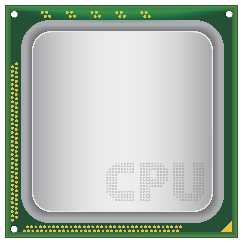Big Computer CPU PNG Clipart.