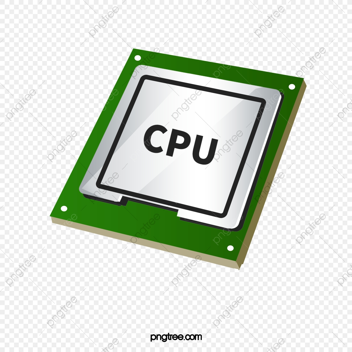 Cpu, Computer Accessories, Electronic Product, Metal PNG Transparent.
