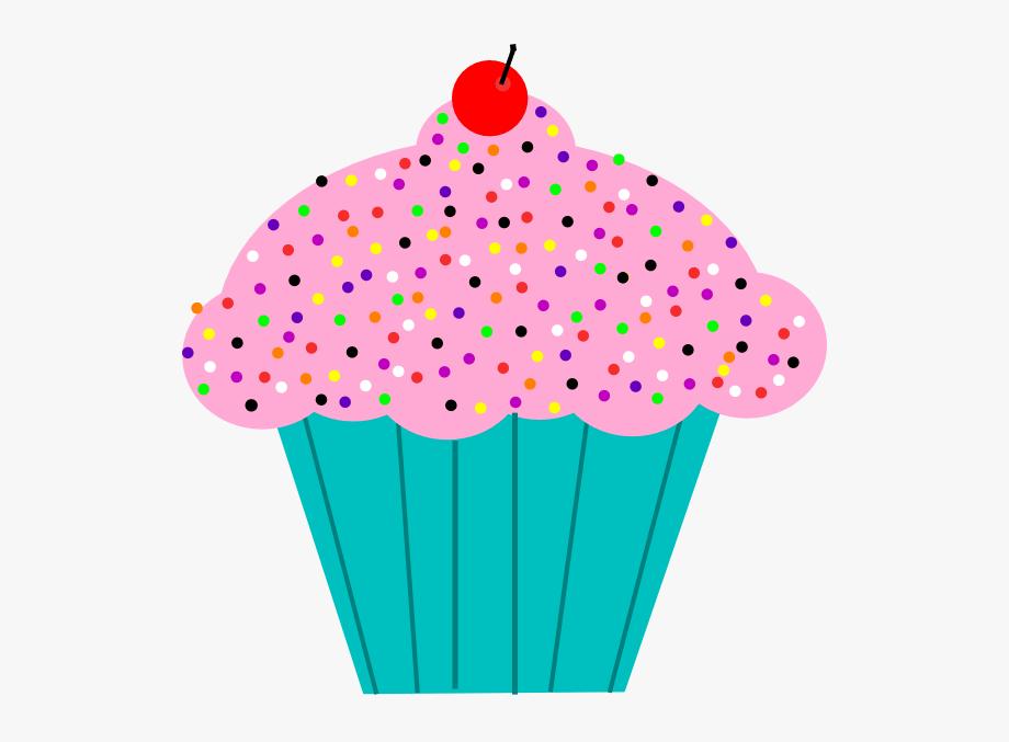 January Cupcake Cliparts.