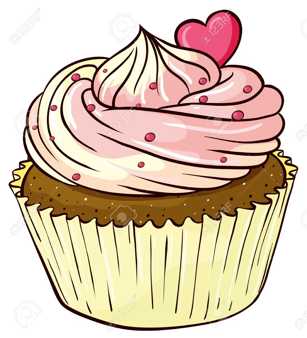 Cupcake Clipart Stock Photos Images, Royalty Free Cupcake.