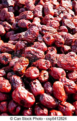 Stock Photo of dried crab apples 2.