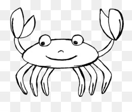 Crab Download Black and white Clip art.
