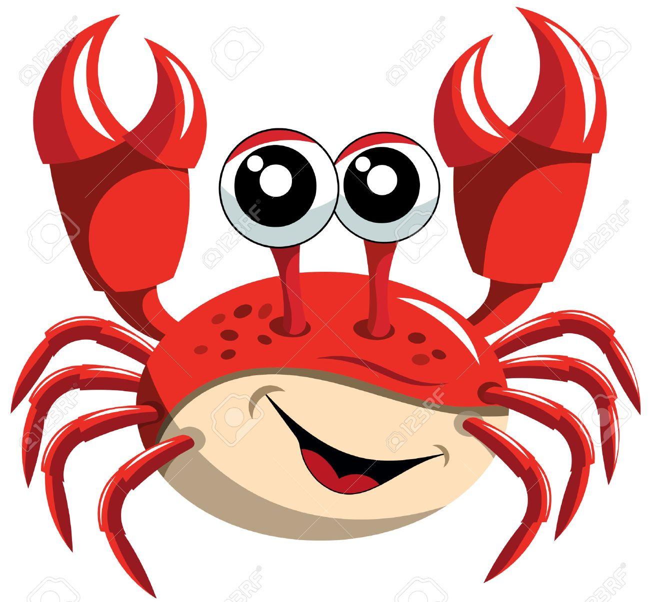 Cartoon Crab.