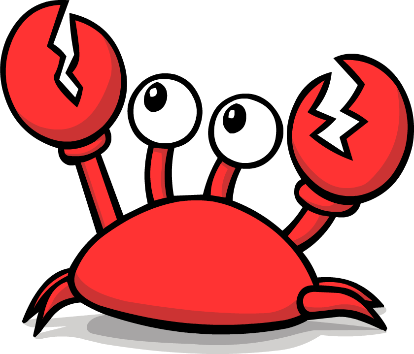 Free crab clipart.