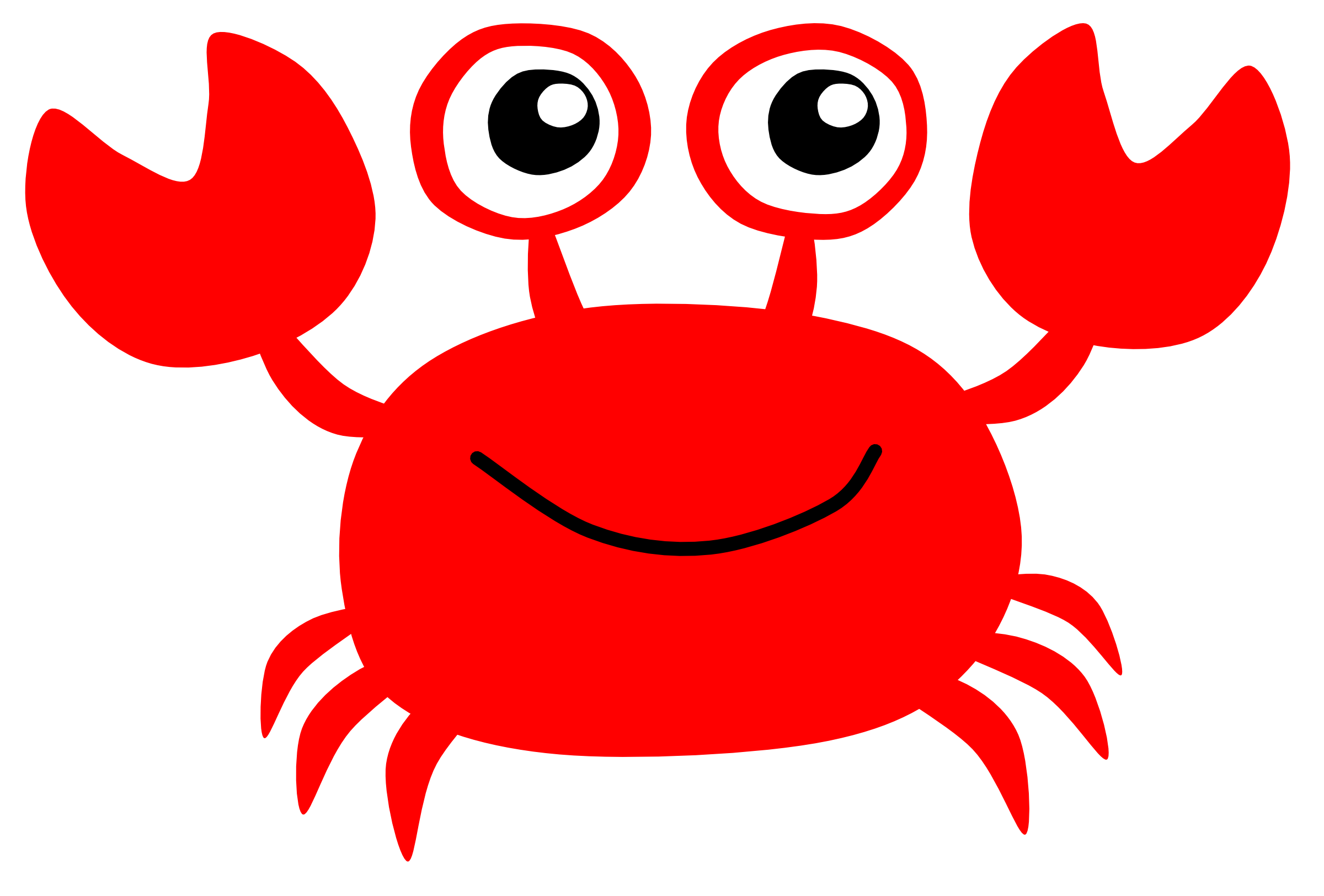 Free Crab Clipart Pictures.