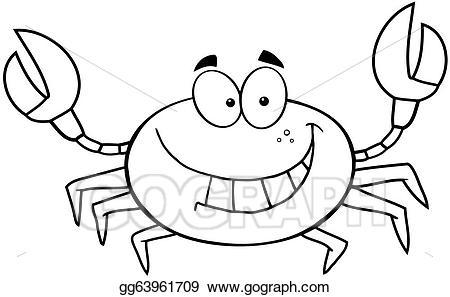 Cute crab clipart black and white 3 » Clipart Portal.
