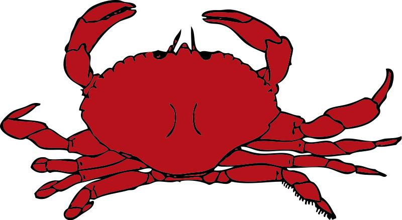Crab Clipart Free.