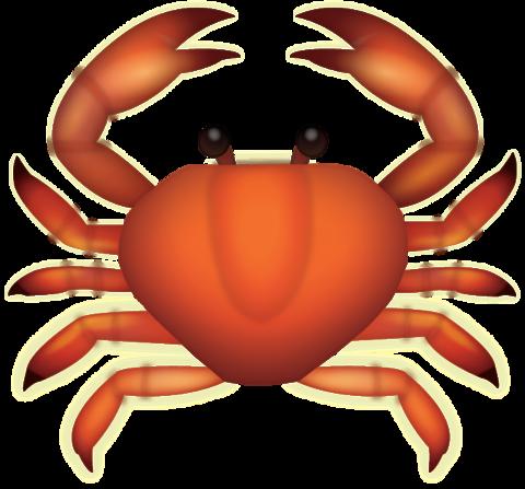 Crab Emoji [Free Download IOS Emojis].