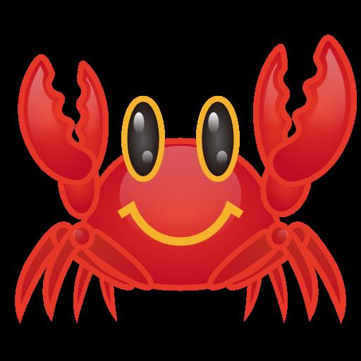 Crab Emoji for Facebook, Email & SMS.
