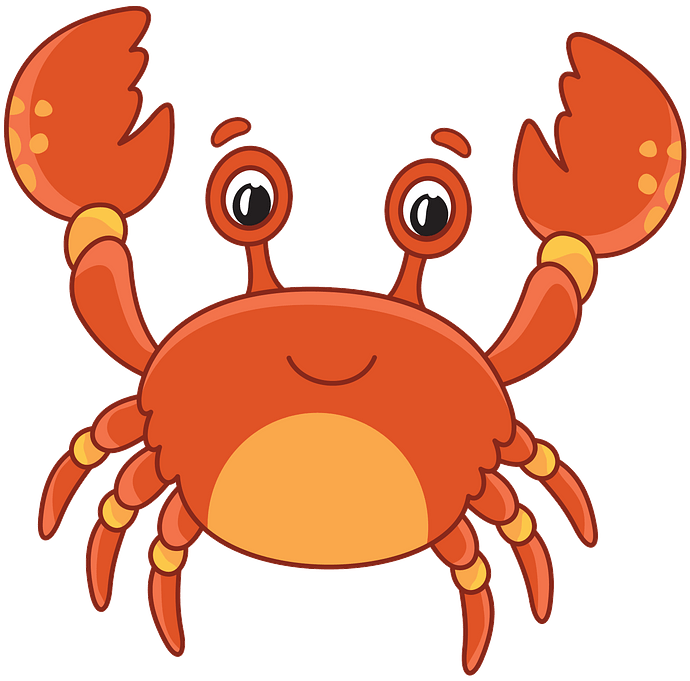 Crab clipart. Free download..