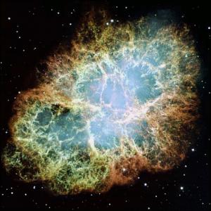Crab nebula clipart.