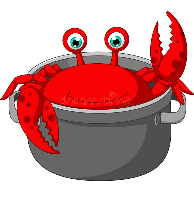 Crab Pot Stock Illustrations.