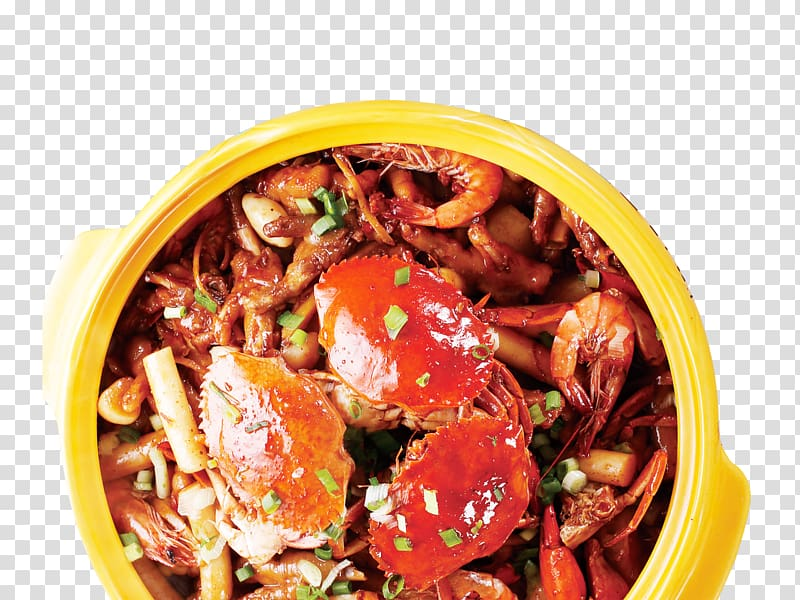 Crab Hot pot Chinese cuisine European cuisine Food, Crab pot.