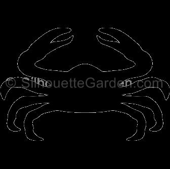 Crab Silhouette.