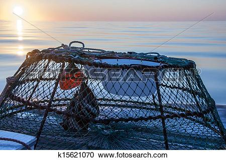 Stock Photography of crab trap k15621070.