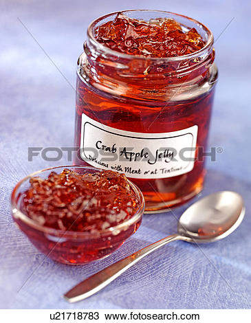 Stock Photo of Crab Apple Jelly.