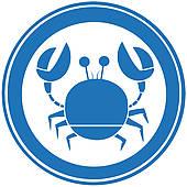 Hard Shell Crab Clip Art.