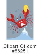 Crabbing Clipart #1.