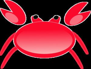 Red Crab Clip Art at Clker.com.