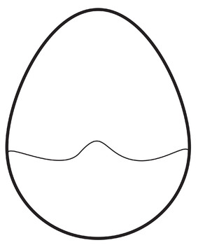 Easter Eggs Clip Art / Cracked Egg Puzzle Cards.