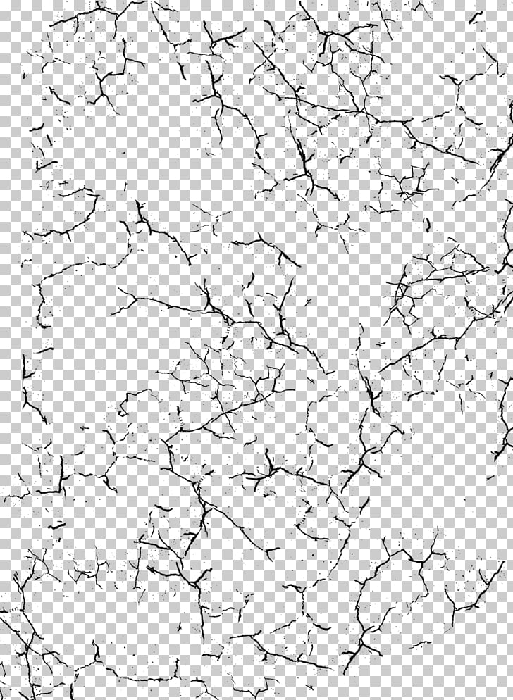 Texture mapping, crack, grey and black pattern illustration.