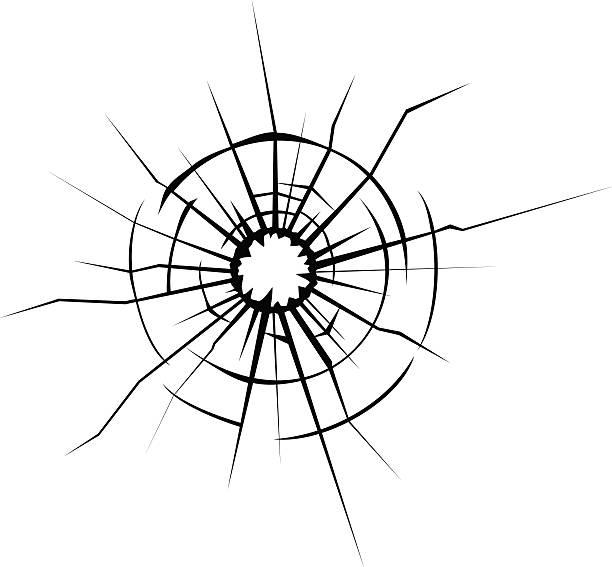 Best Broken Glass Illustrations, Royalty.
