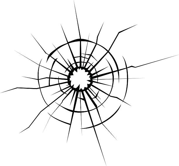 Broken glass cracks » Clipart Station.
