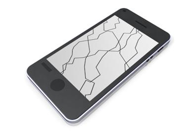 Cellphone clipart broken, Cellphone broken Transparent FREE.