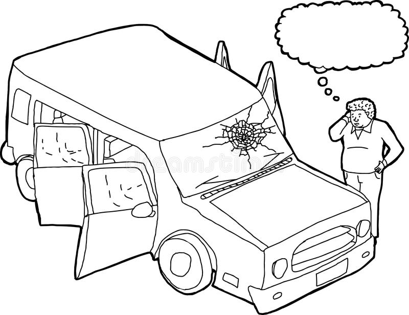 Cracked Windshield Stock Illustrations.