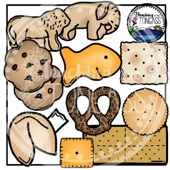 Crackers Clipart and Cookies Clipart.