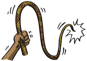 Cracking Whip Clipart.