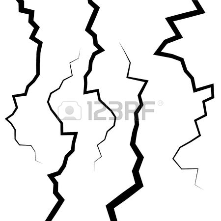 1,051 Earthquake Crack Stock Vector Illustration And Royalty Free.