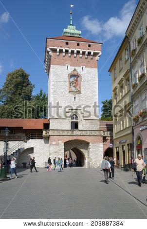 Florian Gate Stock Photos, Royalty.