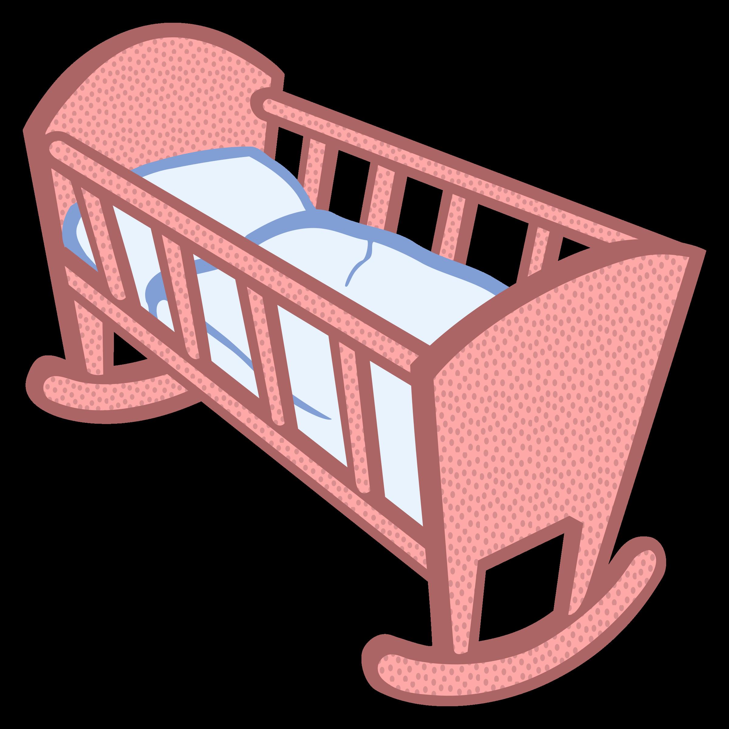 Cradle Clip Art.