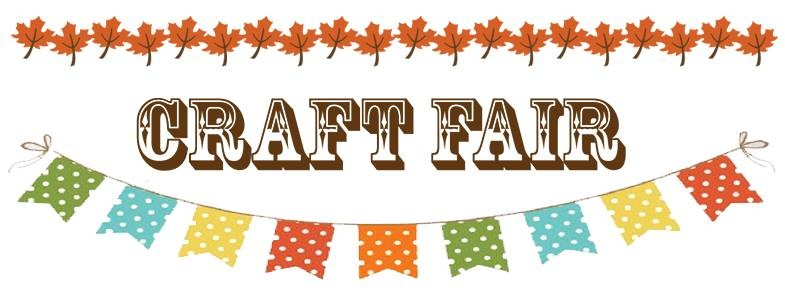 Craft Fair Clip Art.
