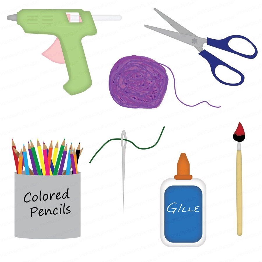 Free clip art for arts and crafts.
