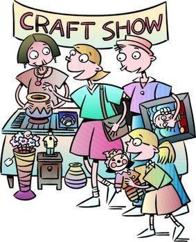 Craft fair clip art.