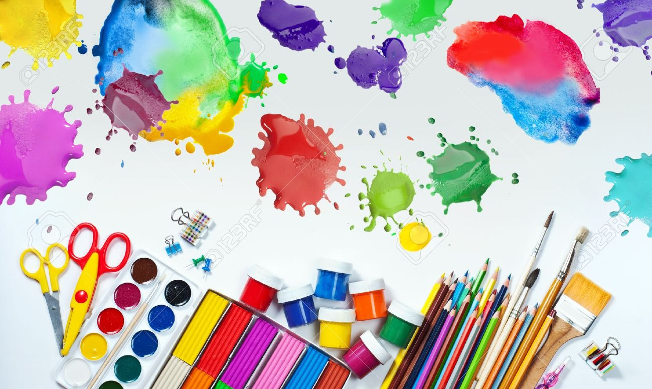 Craft materials clipart clipground for Art from waste for kids