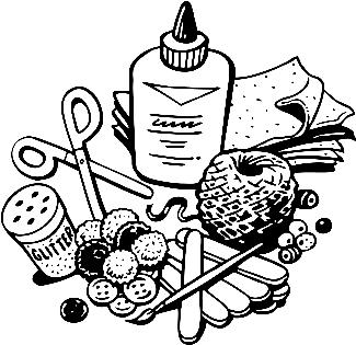 Craft Materials Clipart