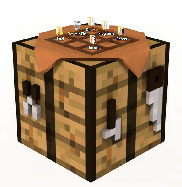 Minecraft Crafting Table Icon #26730.