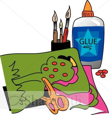 Kids Arts And Crafts Clipart.