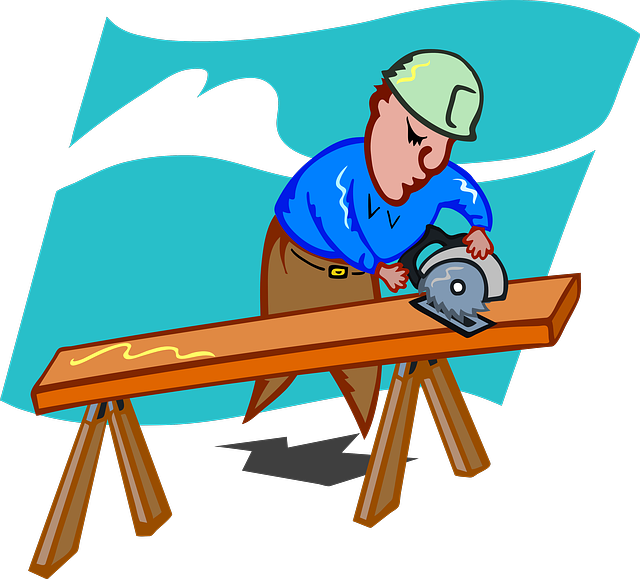 Free illustration: Craftsmen, Schreiner, Saw, Wood.