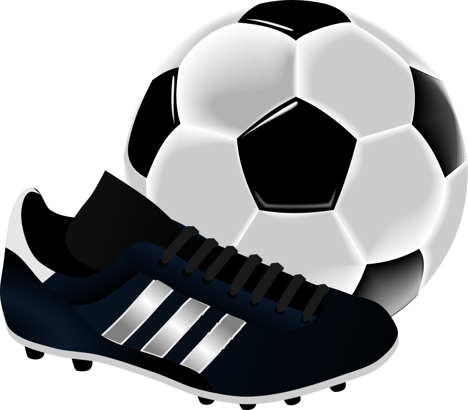 Clipart ballon de foot.