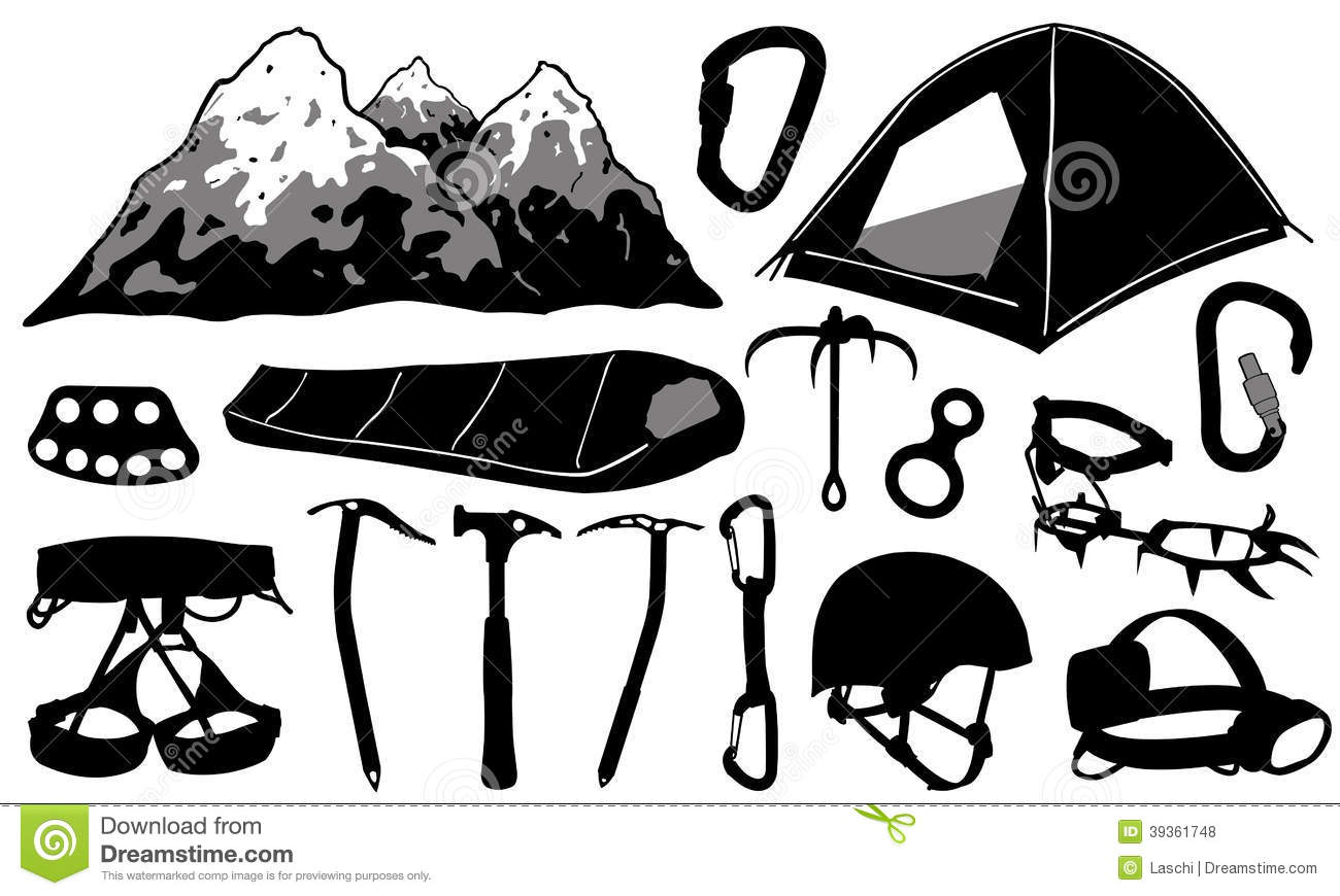 Crampons Stock Illustrations.